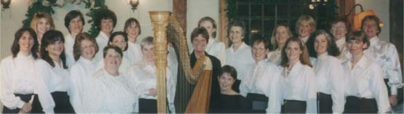 Broad Cove Choral with harp